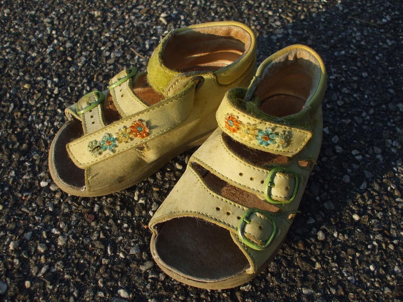 outlet store 200f4 70d68 Babysachen:Kleider:Schuhe gebraucht:Sandälchen Grösse 22